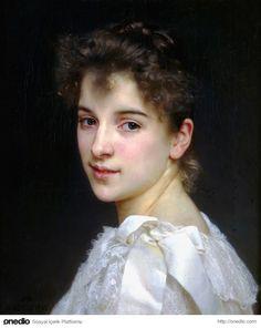 Gabriella Cot'un Portresi - William-Adolphe Bouguereau