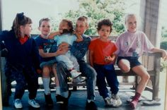 The Kids, 1994: Jenny, Eric, Olivia, Neil, Sean and Katie