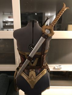 Woman baldric that I made. - Wonder Woman baldric that I made. -Wonder Woman baldric that I made. - Wonder Woman baldric that I made.