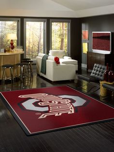 Congratulations #OhioState Buckeyes for winning the National Championship!  We offer Ohio State Logo Rug offered in various sizes.