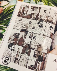 #beard #comics Beard Love, A Comics, Poppy, Photo Wall, Polaroid Film, Frame, Instagram Posts, Picture Frame, Photograph