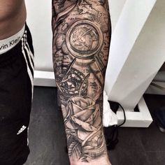 Tattoo on arm