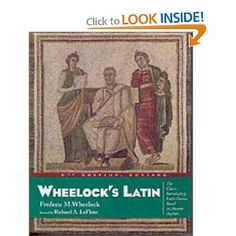 This will be the death of me. Wheelock's Latin
