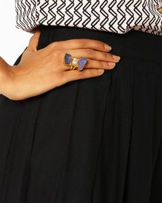 Matte Gold-Plated Statement Ring Check more at http://www.beautyscoopindia.com/matte-gold-plated-statement-ring/