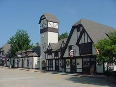 This is Salzburg Square, near Bedford NH. It had the most amazing antique store in it! You could stay there all day!
