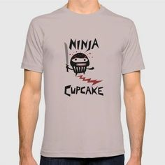 (Unisex Ninja Cupcake T-Shirt) #And #Ass #Bad #Blood #Comics #Cuddly #Cupcake #Cute #Design #Drawn #Hand #Humor #Lettering #Not #Spilling #Type #Typography #Vector is available on Funny T-shirts Clothing Store http://ift.tt/2eJy9BB