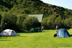 We offer mountain hut accommodation in the Þórsmörk Nature Reserve, where you can choose between private bedrooms, small cottages, mountain hut dormitories and camping grounds.