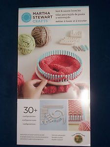 1000 images about martha stewart loom knitting on for Martha stewart crafts knit weave loom kit