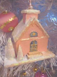 Pink - House Ornament