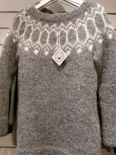 A few words about traditional handknit Icelandic sweaters. Plus lots of pictures for inspiration. (I like this brown-and-white one.)