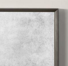 Metal Beveled Leaner Mirror
