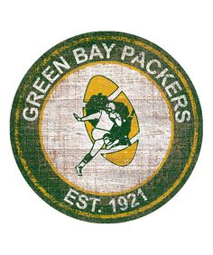 Another great find on #zulily! Green Bay Packers Heritage Logo Sign #zulilyfinds