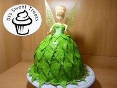 Tinker Bell Doll Cake- Di's Sweet Treats - YouTube