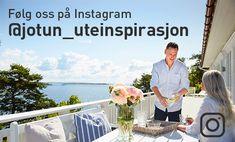 Se Kristins gode soner i uterommet - Jotun Uteinspirasjon Windsurfing, 50 Shades Of Grey, Staycation, Pergola, Instagram, Patio, Nature, Outdoor Pergola
