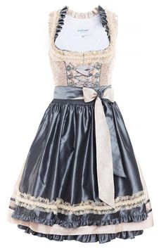 Dirndl Dirndl Rose, Folk Fashion, Womens Fashion, Vintage Dresses, Nice Dresses, Scarf Dress, Vogue, Costume, Retro Dress