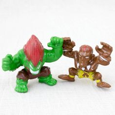 Set of 2 Street Fighter 2 Mini Figure BLANKA DHALSIM Capcom JAPAN GAME