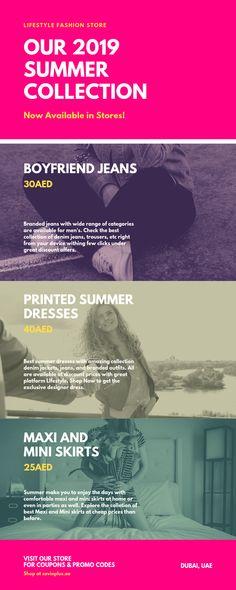 LifeStyle Summer Collection - Coupon Code, Promo Code, Deals & Discounts Shopping Deals, Summer Collection, Coupon Codes, Coupons, Lifestyle, Prints, Coupon