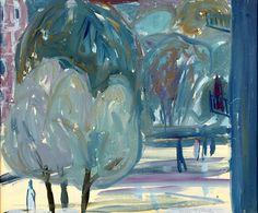 SJÖLANDER, Waldemar (1906-1988) - Garden