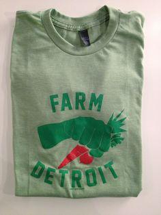 Farm Detroit Mens Tshirt - Goods Detroit   Goods Detroit