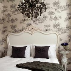 Provencal Louis XV White French Bed | Luxury Bed