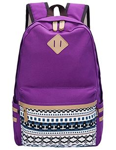 2a67251bfb4a Leaper Causal Style Lightweight Canvas Cute Backpacks School Backpack  (Medium