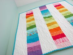 Simple idea for a baby quilt