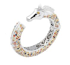 MCL Sapphire Horse Bracelet