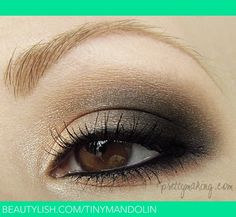 Neutral Smokey Eye | Mandy K.'s (tinymandolin) Photo | Beautylish