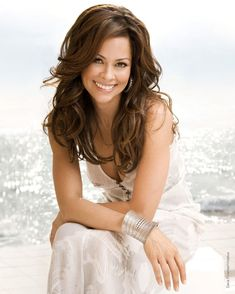 Brooke Burke Charvet (co-host of Dancing with the Stars)
