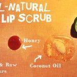 All Natural DIY Lip Scrub