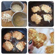 Cauliflower & Feta Fritters #justeatrealfood #hungryforbalance