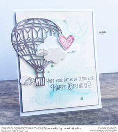 Blog: Creative Scrapbooker Magazine  » Inspired Cards with Stampin' Up! and Cathy Caines