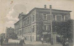 Bezirksgericht. Libau. Postcard.