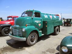 Chevy COE fuel truck.