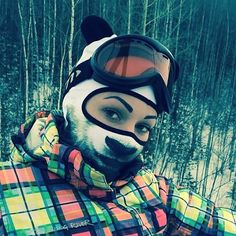 With the winter months fast approaching, the balaclava is a key piece of kit to keep your face warm, or to rob a bank. 22-year-old Russian tattoo model Teya Salat may not be a thief, but her stylish, animal-themed balaclavas have stolen our hearts and opened our wallets!
