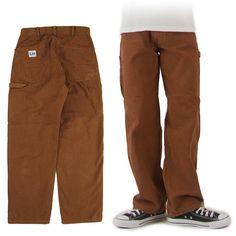 Lee ペインターパンツ ブラウン DUNGAREES BROWN PAINTER PANTS LM7288-168 -JOE- Dungarees, Parachute Pants, Brown, Fashion, Moda, Fashion Styles, Bib Overalls, Brown Colors, Fashion Illustrations