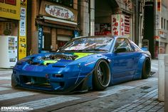 Nakagawa Bad Quality Nissan Rocket Bunny 180SX