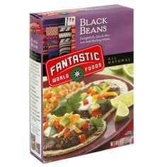 Amazon.com : Fantastic Foods Instant Black Beans 7.0 oz (12 pack) : Black Beans Produce : Grocery & Gourmet Food