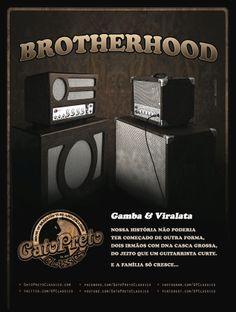 "Ad 12 - Guitar Player Magazine - Mar/14 - Who: Gamba & Viralata: Brotherhood   Campaign: ""Inclusão Valvulada"""