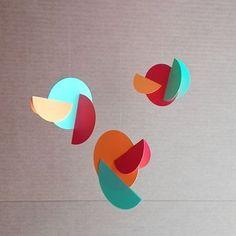 Paper mobiles by Pruna Studio    etsy.com/shop/prunashop    #paper #paperdesign #decor #design #wallart #colorful #mobileart #mobile #homedecor #interiordesign #design #walldecor #art #decoración #decoration #decorideas #handmade #nordic #etsy #crafts #decorative#geometricart #geometric #minimalism #geometry #roomdecor #handmade #paperart #interior #interiores