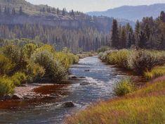 End of the Valley fine art giclee - Colorado stream | Jay Moore Studio | Jay Moore Studio