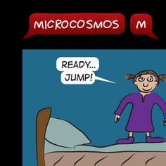 28/52 I'm O.K. #MicrocosmosM #webcomic #comicstrip #comics #familyfriendly #littlegirl #kids #children #childhood #growingup #jump #jumping #ok Friends Family, Family Guy, Comic Strips, Growing Up, Little Girls, Childhood, Humor, Guys, Comics