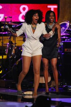 Black Girls Rock (and so does this jumper) | Tracee Ellis Ross    i so love tracee and her hair!!