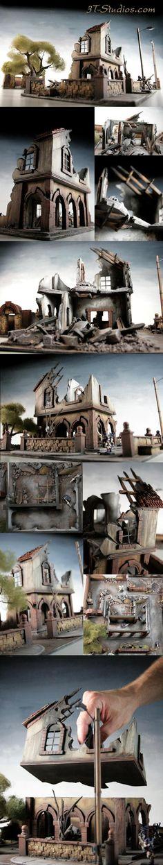 "Terraformer's Terrain Showcase Megathread! - Page 4 - Forum - DakkaDakka | They're not ""toys"" they're ""miniatures""."