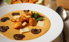 Суп-пюре с плавленным сыром