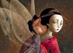 Benjamin Lacombe - Madame Butterfly 10
