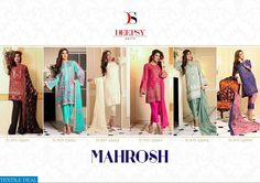 MAHROSH EXPORT HEAVY PAKISTANI CONCEPT SALWAR KAMEEZ Catalog pieces: 6 Full Catalog Price: 6204 Price Per piece: 1034 MOQ: Full catalog Shipping Time: 4-5 days Sizes: Semi Stich #nicecollection  #goodmateriel  #awesomelook Call&Whatsapp;+917405434651 website link :-http://textiledeal.in/wholesale-product/4618/mahrosh-Export-heavy-pakistani-Concept-salwar-kameez
