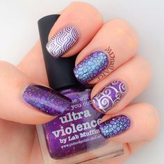 Md Nail Art Picture Polish Ultra Violence Friends