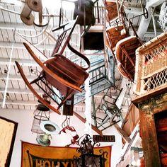 Antiques galore in Venice Beach.
