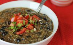 Black Bean and Quinoa Soup: Gluten-free recipe